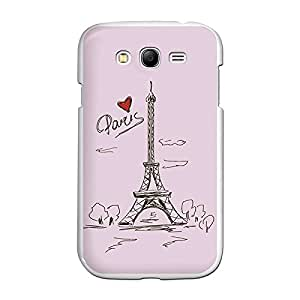 Funda Gel Samsung Galaxy Grand BeCool Dibujo Torre Eiffel