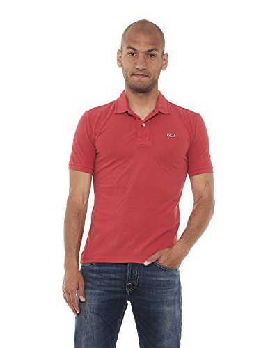 Polo Napapijri Taly Marino Bright Red