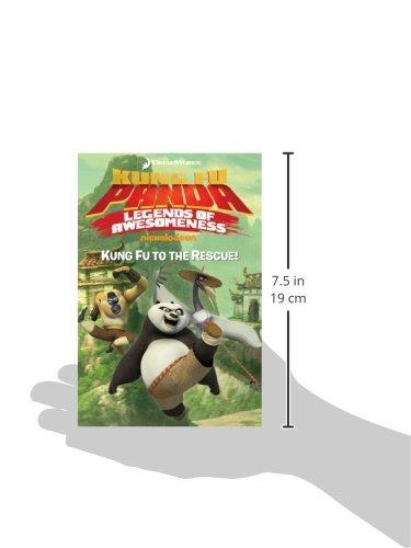 Amazon Kung Fu To The Rescue Kung Fu Panda Tv 9781481405119