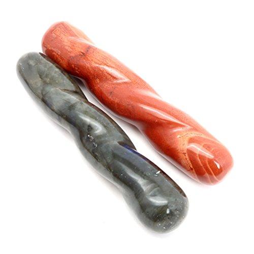 (Satin Crystals Wand Massage Set 4.75