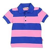 بولو مخطط بياقة قميص واكمام قصيرة للاولاد من كاروت