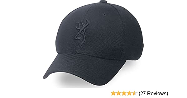 f43d8a7d2f97ac Amazon.com : Browning Coronado Pique Buckmark Cap, Black, Large/X-Large : Baseball  Caps : Sports & Outdoors