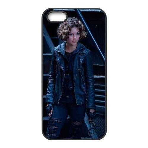 Gotham Camren Bicondova Selina Kyle 97949 coque iPhone 5 5S cellulaire cas coque de téléphone cas téléphone cellulaire noir couvercle EOKXLLNCD24106