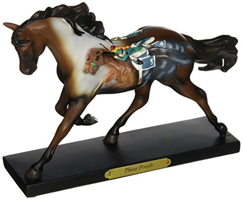 Enesco Trail of Painted Ponies Photo Finish Figurine, 6.3