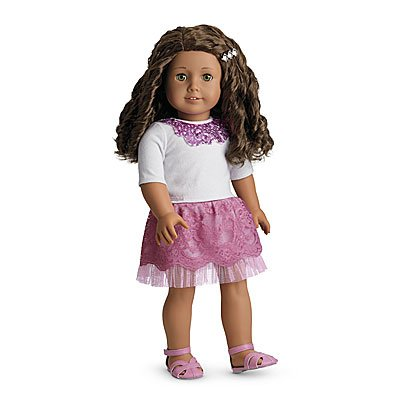 American Girl Sparkle Sequin Outfit - MY AG 2013