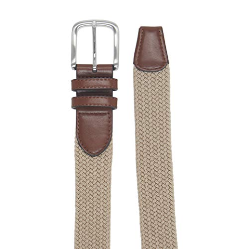 41x  feW%2BLL. SS500  - Amazon Essentials Men's Stretch Woven Braid Belt