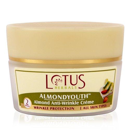 Acne & Blemish Treatments Skin Care Lotus Herbals Almondyouth Almond Anti-wrinkle Cream 50g