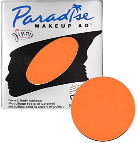 Mehron Makeup Paradise Makeup AQ Refill (.25 oz) (ORANGE) ()