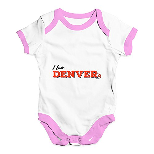 Funny Baby Bodysuits I Love Denver American