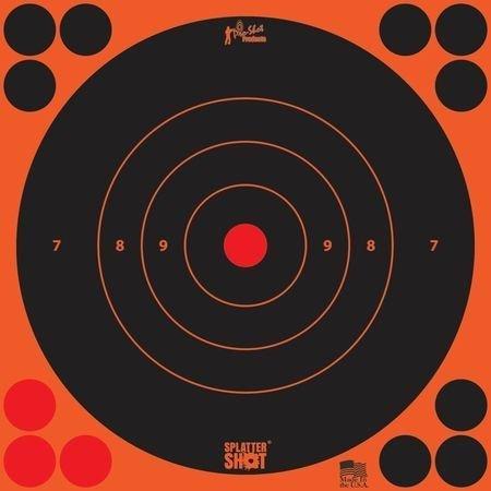 8' Bullseye Target (Pro Shot Bull's-Eye Target (30 Pack), Orange)