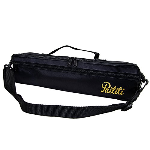 Paititi Brand New C Flute Hard Case Cover w Side