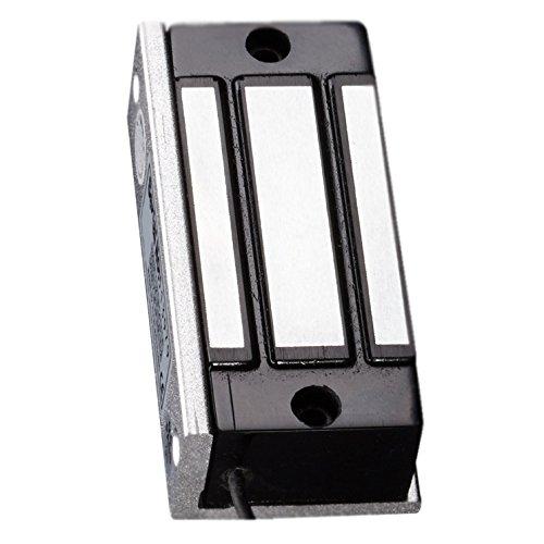 Amazon.com: Visionis VIS-ML120 Cerradura Electromagnética Pequeña de 120lbs para Gabinete y Puerta Pequeña Uso Interior Modo Salvo Normalmente Cerrada 12v: ...