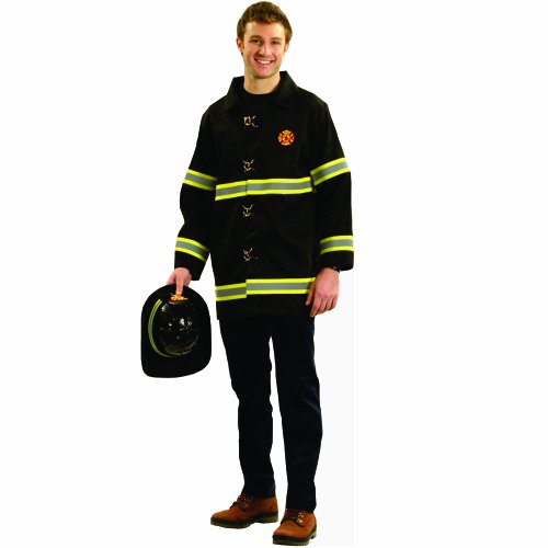 Dressup America Adult Fire Fighter Costume]()