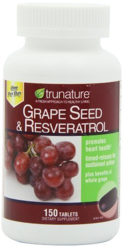 trunature? Grape Seed & Resveratrol, with Vitamin C, 150 tablets, One per day Personal Healthcare / Health Care by…