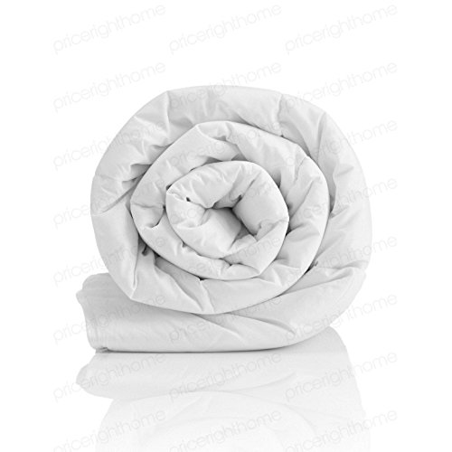 Harwood Textiles Hollowfibre 4.5 tog UK Single/US Twin Comforter Corovin Casing Channel Stitched