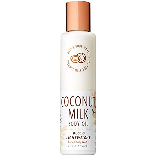 (Bath and Body Works Coconut Milk Body Oil 4.9 Fluid Ounce)