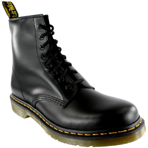 Scarpe donna Argento Boot 8 Martens Loch Dr 1460 qXzp7