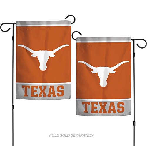 "WinCraft NCAA Texas Longhorns 12.5"" x 18"" Inch 2-Sided Garde"