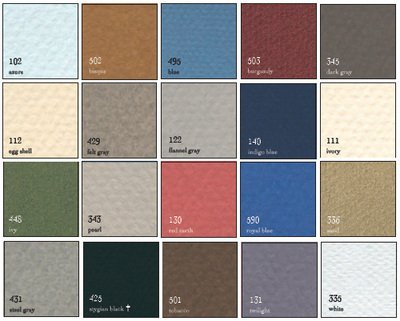 Canson 199-6401 Mi-Teintes Framing Board44; Ivory Mat 111-16 X 20