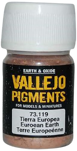 Earth Pigment (Vallejo Earth and Oxide Pigments, European Earth)