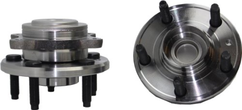 Taurus Ford Hub Rear - Brand New (Both) Rear Wheel Hub and Bearing Assembly Five Hundred, Freestyle, Sable, Taurus 5 Lug W/ ABS (Pair) FWD 512299 x2