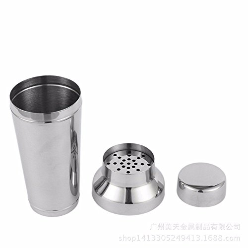 (Bartender,Stainless steel shake pot, stainless steel wine regulator, shaker cup, wine set, speciality cocktail, cocktail, wine regulator.)