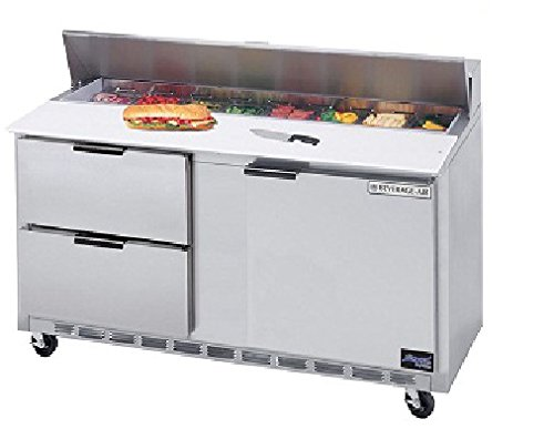 Beverage-Air Commercial Food Prep Tables 60 Sped60-08C-4 by Beverage Air
