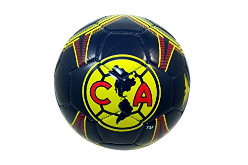 CA Club America Authentic Official Licensed Soccer Ball Size 5 -002 ()