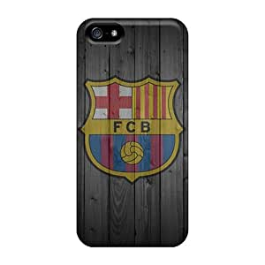Top Quality Case Cover For Iphone 5/5s Case With Nice Fcb Iphone 4 Appearance