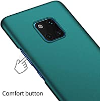 Huawei Mate 20 Pro Case, Almiao [Ultra-Thin] Minimalist Slim Protective Phone Case Back Cover for Huawei Mate 20 Pro (Gravel Green)