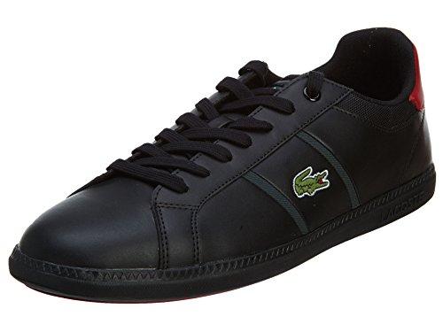 Henry Ferrera Donna Lifestyle 800 Fashion Slip-on Sneaker, Nero, 10 Nero / Rosso