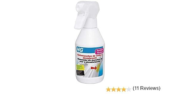 HG 634025130 - Eliminador manchas sudor y desodorante (envase de 0 ...