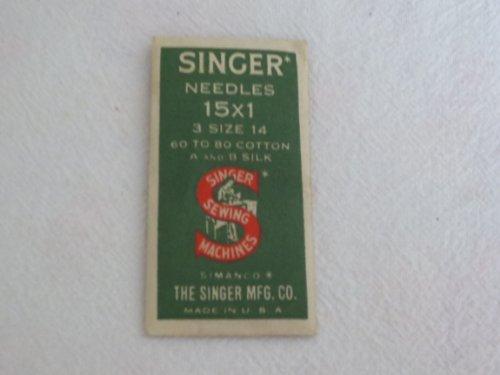 singer 15x1 needles - 5