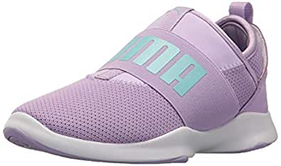 PUMA Unisex Dare PS Sneaker, Purple Rose-Island Paradise, 1.5 M US Little Kid