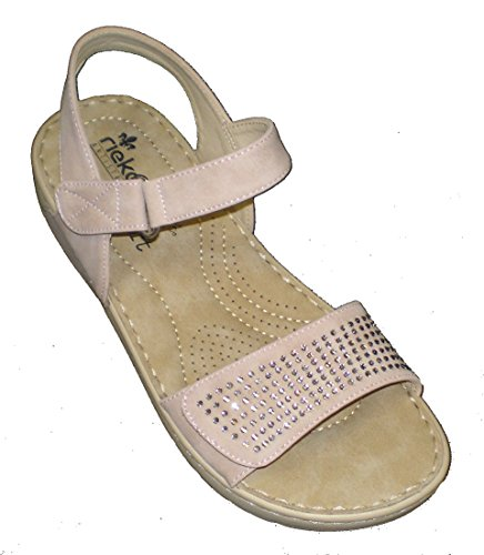 Rieker Ladies Casual Sandals V5772-31 - Rosa Manmade for sale  Delivered anywhere in USA