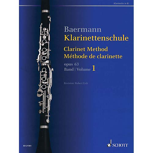 Clarinet Method, Op. 63 (Volume 1, Nos. 1-33 - Revised Edition) Woodwind Method Series Softcover Pack of - Method Softcover