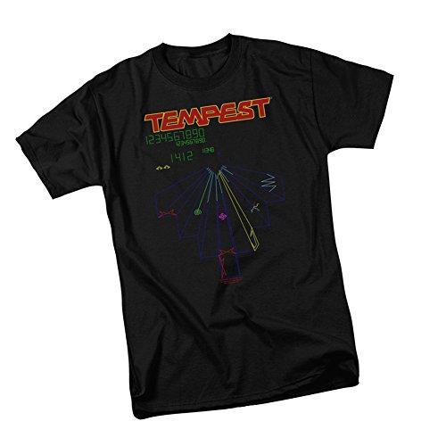 Atari Tempest Screen Adult T-Shirt
