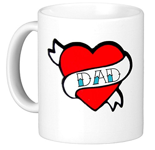 SUSANNAH Heart Coffee Printed Fathers
