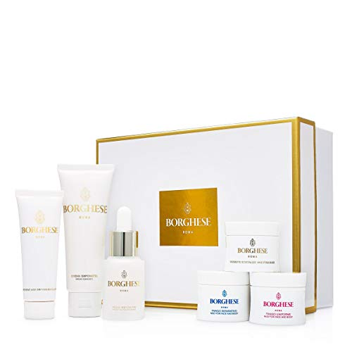 Borghese On-the-go Jet Set Skincare Regimen, 6 ct. (Borghese Fluido Protettivo Advanced Spa Lift For Eyes)