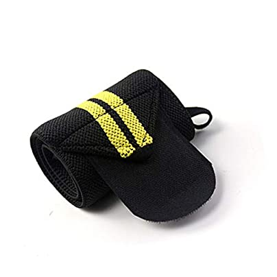 1Pcs Adjustable Wristband Elastic Breathable Wrist Wraps Bandages Weightlifting Powerlifting Wrist Support Fitness Gym Sports Estimated Price £8.29 -