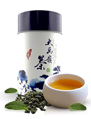 Oolong Loose Tea Leaves, Ali Shan Taiwan High Mountain Tea and Pure Da Yu Ling Tea Tin from Zone – 365