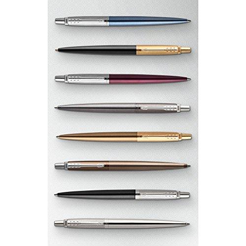 Medium Nib Waterloo Blue Barrel Gift Boxed Parker Jotter Ballpoint Pen