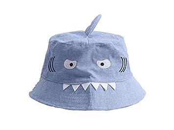 Amazon.com  Baby Headwear Creative Kids Shark Bucket Hat Children Packable  Soft Cap Sun Visor for 1-6 Years Old Toddler Cap  Baby a80012b4d06