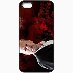 Personalized iPhone 5 5S Cell phone Case/Cover Skin 16 Blocks Bruce Willis Jack Mosley face Movies Black