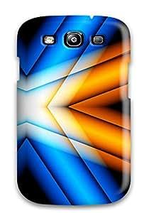 Qguvmwn8911ruVHO Faddish Funky Criss Cross Design Case Cover For Galaxy S3