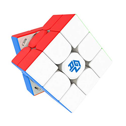 GAN 11 M Pro 3x3 Speed Cube by Cuberspeed GAN 11M Pro 3x3x3 Magic Cube Puzzle (GAN 11 M Pro Frosted stickerless Primary)