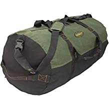 Ledmark Heavyweight Cotton Canvas Outback Duffle Bag