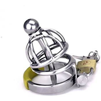 """ Attica Hell 1.75"" - Xtra Short - Heavy Duty : Stainless Steel Chastity Device / Removable Hollow Urethral Penis Plug . Welded By Manhood AcademyTM . Made in USA (Not Imported) (1.75"" 43mm Cock Ring)"