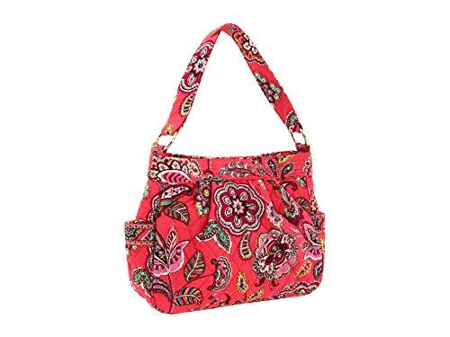 Vera Bradley Reversible Tote Bag Purse Call Me Coral