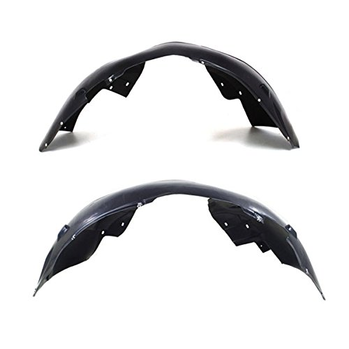 Koolzap For 08-18 Grand Caravan Front Inner Fender Liner Panel Left & Right Side PAIR SET